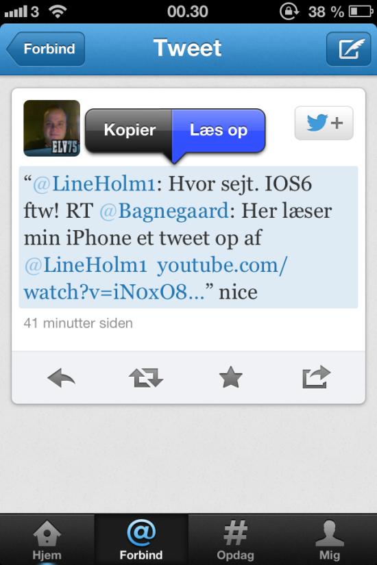 leas op iOS6 2