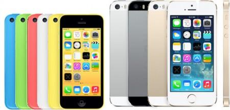 iPhone 5s og 5c